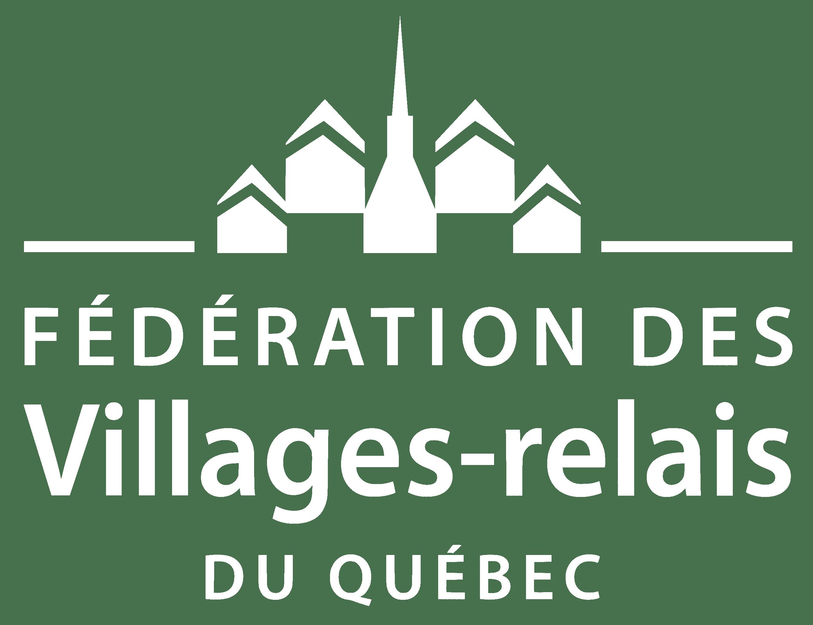 Logo Fédération Village-relais du Québec